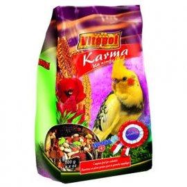 Vitapol Karma Полнорационный корм для нимф и других средних попугаев, 500 г