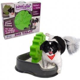 Woofaloo (Вуфалу) ТУАЛЕТ C ДЕРЕВОМ СТОЛБИКОМ для кобелей собак малых и средних пород