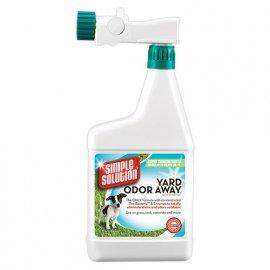 Simple Solution YARD ODOR AWAY! Средство для нейтрализации запахов мочи и кала на садовых участках и газоне, концентрат, 945 мл